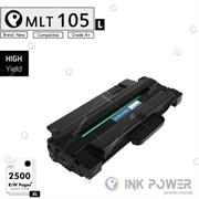InkPower Generic Samsung MLT-D105L for use with Samsung ML-1915, ML-1910, ML-2525, ML-2580N, ML-2525W, SCX-4600, SCX-4623F, SCX-4623FN, SF-650, SF-650P Toner Cartridge, Retail Box , No Warranty