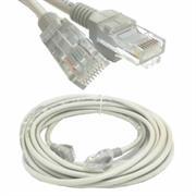 Geeko 10m RJ45 Network Patch Cable – Grey, OEM, No Warranty