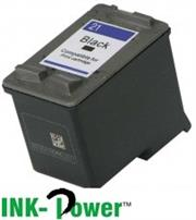 InkPower Generic HP Business Inkjet 1410 / IJ 4355 – 21XL Black Inkjet Cartridge, Retail Box , No Warranty