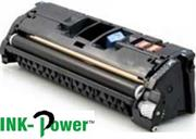 Inkpower Generic For HP 122A Q3960A LaserJet Black Toner Cartridge – Page Yield: 5000 pages with 5% coverage For use with HP Color LaserJet 2550, HP Color LaserJet 2550 L , HP Color LaserJet 2550 LN , HP Color LaserJet 2550 N , HP Color LaserJet 2800 Series, HP Color LaserJet 2820, HP Color LaserJet 2840, HP Color LaserJet 2840 AIO, Canon 701 Black Toner, Retail Box