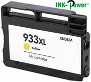 InkPower Generic Replacement for 933XL Yellow Ink Cartridge CN056AA -for use with HP OfficeJet 6100 e-Printer, HP OfficeJet 6600 e-All-in-One, HP OfficeJet 6700 Premium, HP OfficeJet 7110 wide format Printer, Retail Box