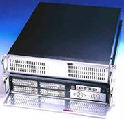 Netix IPC 2U 19 Inch Rack Mount Long Server Chassis Black No Power Supply Included , Retail Box, 1 Year Warranty
