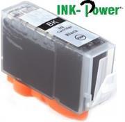 InkPower Generic Canon Ink PGI-425 PGBK for use with IP 4840, IP 4850, IP 4940, IP 4950, IP 4970, IX 6550, MG 4170, Black Injet Cartridge, Retail Box , No Warranty