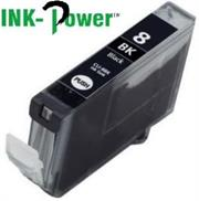Inkpower Generic for Canon CLI-8 Black Dye Ink Cartridge- For Use With Canon Pixma IP 3300 / Pixma IP 3500 / Pixma IP 4200 Series / Pixma IP 4200 X / Pixma IP 4200 / Pixma IP 4300 / Pixma IP 4500 Series / Pixma IP 4500 X / Pixma IP 4500 / Pixma IP 5200 R / Pixma IP 5200 Series / Pixma IP 5200 / Pixma IP 5300 / Pixma IX 4000 R / Pixma IX 4000 Series / Pixma IX 4000 / Pixma IX 5000 / Pixma MP 500 / Pixma MP 510 / Pixma MP 520 Series / Pixma MP 520 X / Pixma MP 520 / Pixma MP 530 / Pixma MP 600 R / Pixma MP 600 Series / Pixma MP 600 / Pixma MP 610 / Pixma MP 800 R / Pixma MP 800 Series / Pixma MP 800 / Pixma MP 810 / Pixma MP 830 / Pixma MP 970 / Pixma MX 700 / Pixma MX 850, Retail Box