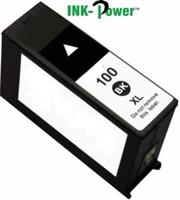 InkPower Generic Lexmark 100XL Black Cartridge – for us with Lexmark No 100XL -S305 / S405 / S505 / S605 / S815 / Pro 205 / Pro 705 / Pro 707 / Pro 805 / Pro 906, Retail Box , No Warranty