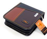 Jarl 40pcs Cd Wallet Brown Leather, Retail Box, No Warranty