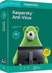 Kaspersky 2020 Anti-Virus 1-User, Retail Packaging, No Warranty on Software