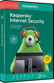 Kaspersky 2020 Internet Security 1-User, Retail Packaging, No Warranty on Software