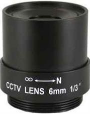 Securnix Lens 6MM FIXED, Retail Box , No Warranty