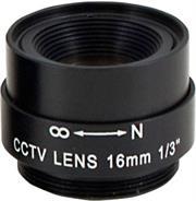 Securnix Lens 16MM FIXED, Retail Box , No Warranty