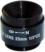 Securnix Lens 25MM FIXED, Retail Box , No Warranty