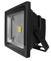 Luceco LED Floodlight – 30W – LFL30W50B05-01 – Black Body 0.5M – 2150 Lumens – 30000hrs, Halogen equivalent: 300 Watt, Beam Angle: 120°, Instant 100% output, Retail Box, 1 year warranty