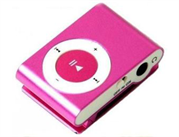 Geeko iFlux Pocket MP3 Player With Back Clip, Earphones and Micro SD Card Slot – Support MP3 audio formats only, No internal memory on-board, Can be used as card reader, Built-in rechargeable lithium-ion battery, High speed USB 2.0 Mini USB Interface, Micro SD Flash Card that must be purchased separately – Pink, Retail Box, 1 year Limit warranty