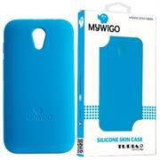 MyWiGo CO4192A Silicon blue bumper for MyWigo Turia 2 – Blue, Retail Box, Limited 1 Year Warranty