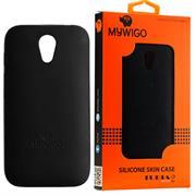 MyWiGo CO4192N Silicon Black bumper for MyWigo Turia 2 – Black, Retail Box, Limited 1 Year Warranty