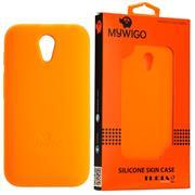 MyWiGo CO4192O Silicon Orange bumper for MyWigo Turia 2 – Orange, Retail Box, Limited 1 Year Warranty