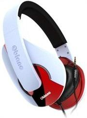 OBlanc Shell NC3-1 2.0 Channel Headphones+ In-line Microphone with call control and tangle-free cord-50mm ultra-large diaphragm Neodymium driver, Retail Box , 1 year Limited Warranty