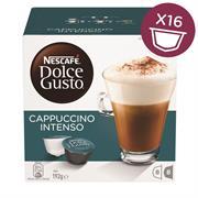 Nescafe Dolce Gusto Cappuccino Intenso 16 Capsules Retail Box No Warranty