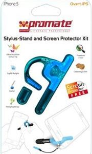 Promate Overt.iP5 iPhone 5 Stylus-Stand and Screen Protector Kit , Retail Box , 1 Year Warranty
