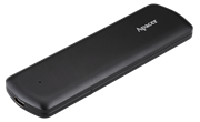 Apacer AS721 250GB External SSD Type-C USB Black(Aluminium) : USB 3.2 Gen 2 SATA / USB-C and backward compatible with USB 2.0; System Supported Windows 10/8.1/8/7, Mac OS 10.6.X or above, Linux Kernel 2.6.X or above; Shock Proof(Shock 1500G/0.5 msec); MTBF 2,000,000 hours., Retail Box, Limited 3 Year Warranty