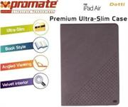 Promate Dotti Premium ultra Slim and Sporty Case for iPad Air-Grey, Retail Box, 1 Year Warranty