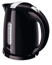 Philips Kettle 1.5L 2400W (HD4646/BK) – Black, Lid knob stays cool for a safe touch, Multi safety system against boil-dry, with auto switch off when ready or when lifted from the base, Hinged lid with large opening for easy filling and cleaning, also avoiding steam contact, Easy to read water level indicators on both sides of the Philips electric kettle for left and right handed use, The cord can be wrapped around the base, so that the kettle is easy to place in your kitchen, Cordless 360° pirouette base for easy lifting and placing, The stainless steel concealed element ensures fast boiling and easy cleaning, The kettle can be filled via the spout or by opening the lid, The removable micro-mesh filter on the spout restrains all scale particles with size > 200 micron and ensures that the water you put into your cup is clean, Retail Box, 1 year warranty