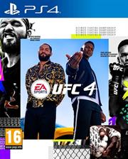 PlayStation 4 Game EA Sports UFC 4, Retail Box, No Warranty on Software