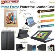 Promate Memo Photo Frame Protective Leather Case for IPad Mini-Cream, Retail Box, 1 Year Warranty