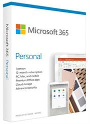 Microsoft Office 365 Personal Edition – Medialess – 1 Year License, DSP , No Warranty on Software