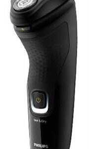 Philips Wet/Dry Electric Shaver 3head W/Trimmer – ComfortCut Blades, One-Touch Open, Pop Up Trimmer, 3 Directional Flex Heads, 8 Hour Charge, 40 MinsRetail Box 2-year warranty