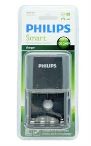 Philips SCB1411NB Smart Charger with Microprocessor Control, Retail Box , No Warranty