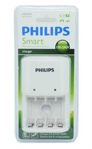 Philips SCB1411WB Smart Charger with Microprocessor Control, Retail Box , No Warranty