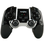 FlashFire Shark Pad 2.4Ghz W/less GamePad , Vibration Feedback, 4 Axis, 12 Fire Buttons, Turbo/ Macro Functions , Retail Box, 6 months warranty
