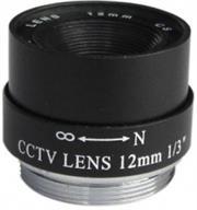 Securnix Lens 12MM FIXED IRIS, Retail Box , No Warranty