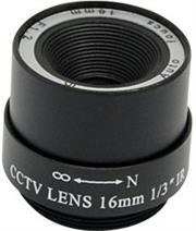 Securnix Lens 16MM FIXED IRIS, Retail Box , No Warranty