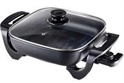 Salton Square Electric Frying Pan Retail Box 1 year warranty
