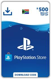 PlayStation Top Up R500, Digital Code, No Warranty on Vouchers