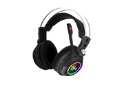 KWG Taurus P1 Headset, RGB streaming lighting Large 50mm driver provides perfect sound effects and rich bass Oversized Earcup Design The innovative design of the oversized earcups guarantees exceptional comfort and isolates external noise Omnidirectional flexible microphone The omnidirectional microphone with noise-cancelling function can be adjusted to your preference Ergonomic comfort Headband Comfortable large leatherette ear cups for extended gaming sessions, Retail Box, 1 year warranty