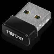 TrendNet Micro N150 Wireless & Bluetooth USB Adapter, Retail Box, 6 months Limited Warranty