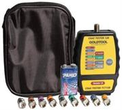 Goldtool Coax Cable Mapper 8 ID Finder with Toner-Handheld testing device designed for CATV and Security Installers , Retail Box, 1 year warranty