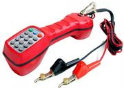 Goldtool Linemans Test Set For RJ11 , Red, Retail Box, 1 year warranty