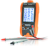 Goldtool All-In-One Digital Multimeter and Cables – 3.5 inch TFT-LCD (320×240) Pixels Colours, Back Light + Touch Panel , DMMs (Multi-Meter) Function . Cable Tester Function , LED Lighting / Auto Power OFF , Retail Packaging, 3 Months Warranty