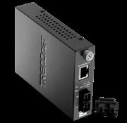 TrendNet 100Base-TX to 100Base-FX Multi Mode SC Fiber Converter, Retail Box, 1 year Limited Warranty