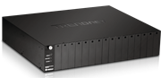 TrendNet 16-Bay Fiber Converter Chassis System, Retail Box, 1 year Limited Warranty