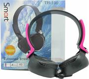 Smart Stereo Headset-Pink Colour, Retail Box , 1 year Limited Warranty