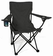 Totally Camping Chair Colour Black Retail Box No Warranty