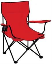 Totally Camping Chair Colour Red Retail Box No Warranty