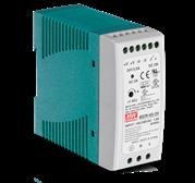 TrendNet 60 W Single Output Industrial DIN-Rail Power Supply, Retail Box, 6 months Limited Warranty