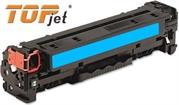 TopJet Generic Replacement Toner Cartridge for HP 128A -CE321A – Page Yield: 1300 pages with 5% coverage for use with Colour LaserJet CM1415 / CM1415fn / CM1415fnw / CP1525nw -Cyan , Retail Box