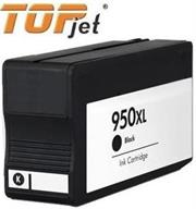 TopJet Generic Replacement for HP 950XL Black Cartridge for use with HP Officejet Pro 251 DW, OfficeJet Pro 276 DW, OfficeJet Pro 276 DW, OfficeJet Pro 8100 E printer, OfficeJet Pro 8600 Plus E-All-In-One, OfficeJet Pro 8600 Premium E-All-In-One, OfficeJet Pro 8600 E-All-In-One, OfficeJet Pro 8610 E-All-In-One, OfficeJet Pro 8615 E-All-In-One, OfficeJet Pro 8620 E-All-In-One, OfficeJet Pro 8630 E-All-In-One, OfficeJet Pro 8640 E-All-In-One, OfficeJet Pro 8660 E-All-In-One, Retail Box